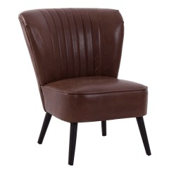 SILLON POLIPIEL CHOCOLATE