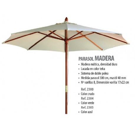 PARASOL DE MADERA